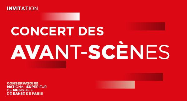 Invitation Concert des Avant-scènes