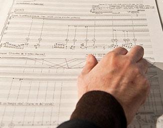 © INRIA / Photo H. Raguet : conférence vers un traité d'orchestration interactive