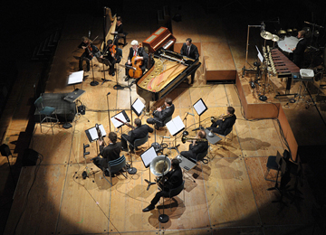 Les                                                            solistes de                                                            l'Ensemble                                                            intercontemporain                                                            © DR