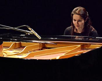 Anna D'Errico au piano © Giorgio Finali