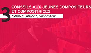 Interview de Marko Nikodijevic, réalisée au CENTQUATRE-PARIS lors de l'académie-2019