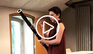 La bassonniste Olivia Palmer Baker de l'Ensemble ULYSSES