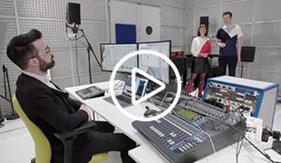 Image extraite du documentaire Arte : le chercheur Philippe Esling présente les possibilités du logiciel SoMax