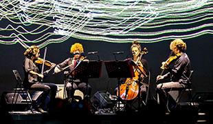 Le                                                            Quartetto                                                            Maurice                                                            interprétant «                                                            Opus », de                                                            Matteo                                                            Francheschini,                                                            au Sound                                                            Festival, à                                                            Taipei © photo                                                            C-LAB