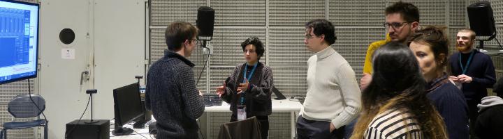 Ateliers                                                            du Forum 2020,                                                            dans les                                                            studios de                                                            l'Ircam
