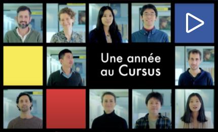"""Websérie """"Une année au Cursus"""""""